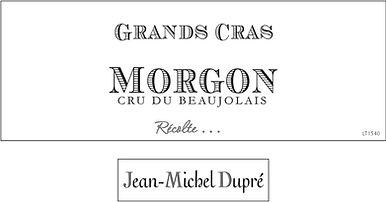 Jean-Michel Dupre - Morgon Grands Cras N