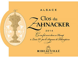 Clos du Zahnacker 2014 Alsace Reserve.jpg