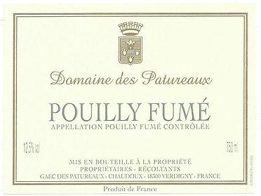 Domaine des Patureaux - Pouilly Fume - N