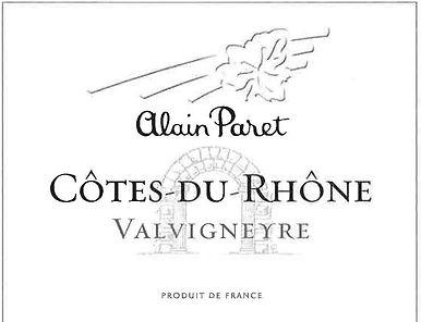 Alain Paret CDR Valvigneyre - NV ROUGE.j