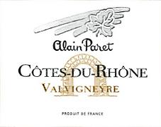 Alain Paret - Valvigneyre blanc NV_edite