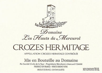 Domaine Les Hauts de Mercurol Crozes Her