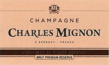 Charles Mignon  Rose 1er Cru Premium Res