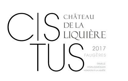 Chateau de la Liquiere CISTUS 2017.jpg