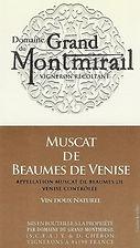 Dom Grand Montmirail Muscat Baume de Ven