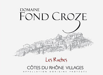 Domaine Fond Croze - CDR Villages Roches