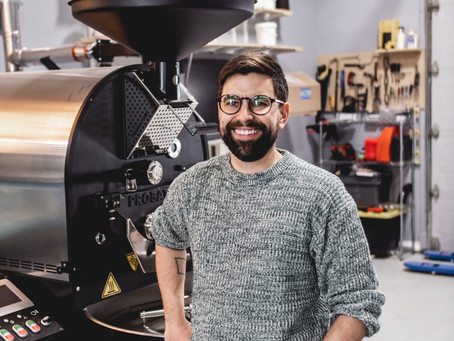 Behind the Roaster: Quietly Coffee