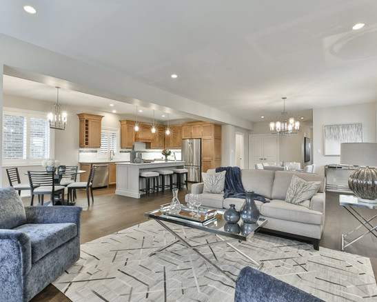 Silas-New Home in North London-Open Concept
