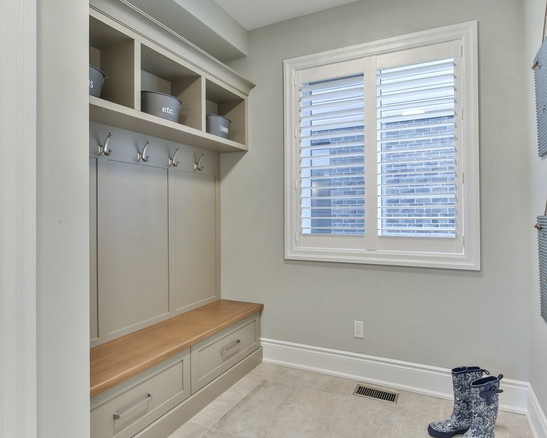 Silas-New Home in North London-Mud Room