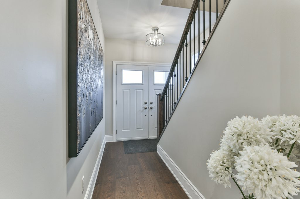 Silas-New Home in North London-Foyer