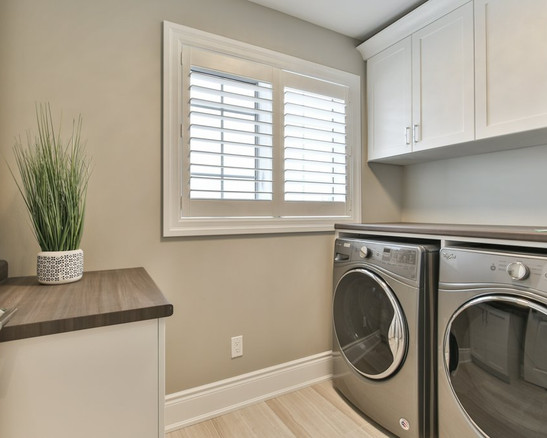 Silas-New Home in North London-Laundry