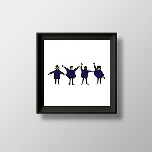 The Beatles Help! print