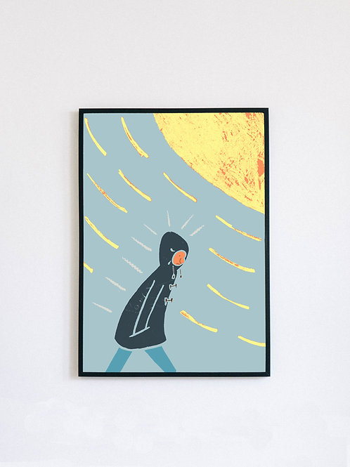 British Summer Time (Sun) print