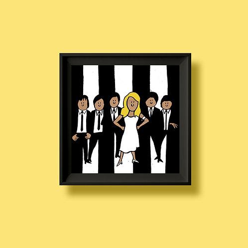 Blondie print