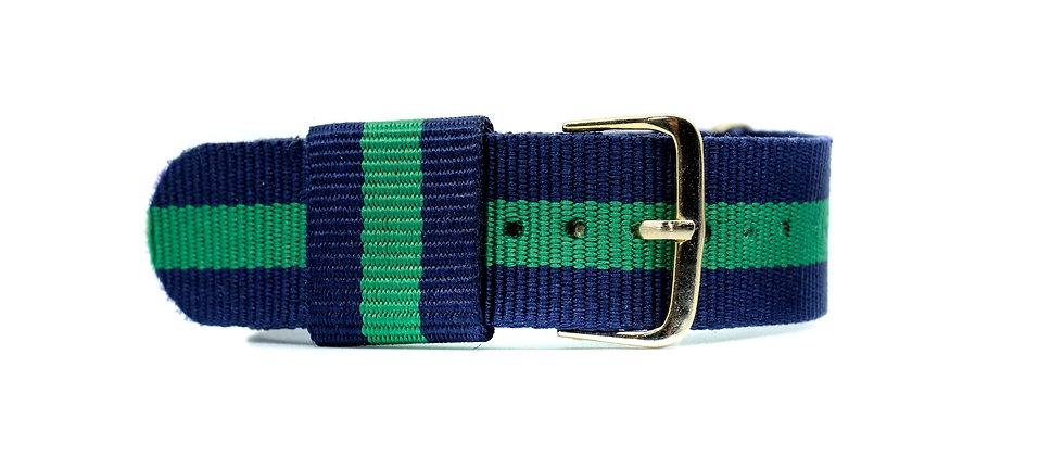 Green Kelly nylon strap