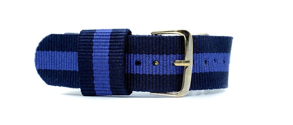 Deep Blue nylon strap