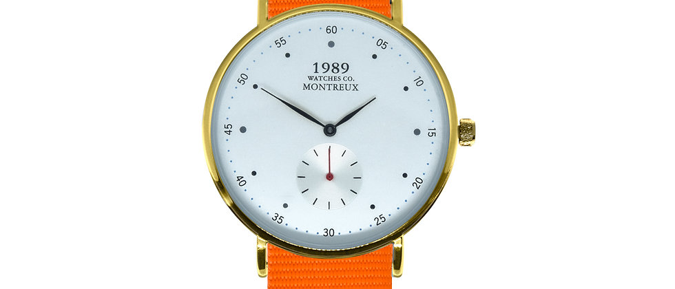 Montreux Gold Tangerine Orange Nylon