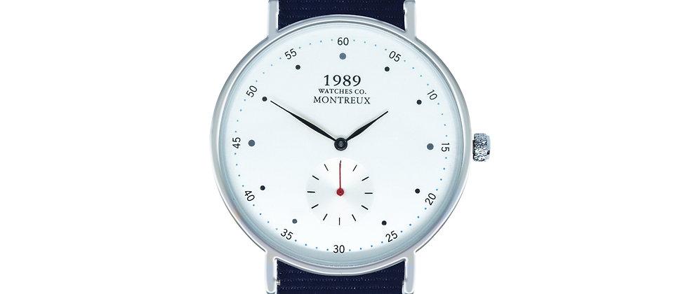 Montreux Silver Royal Blue Nylon