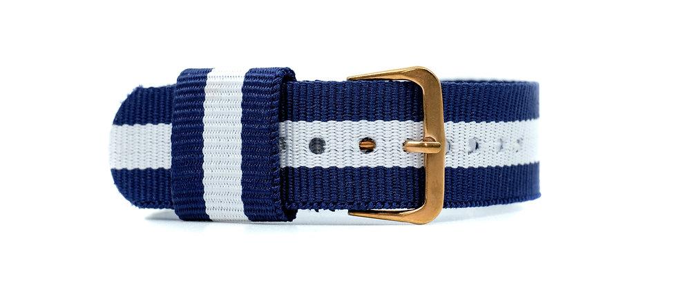 Blue Navy nylon strap