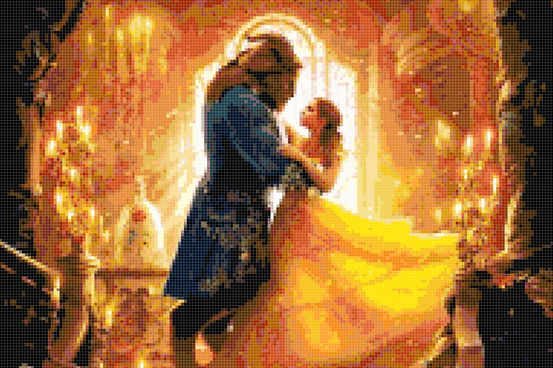 Beauty and The Beast Preview.JPG