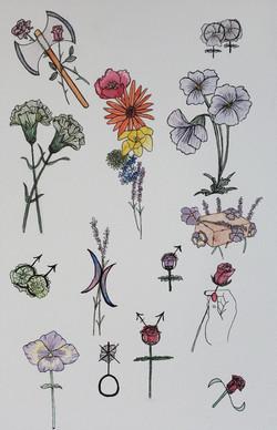 LGBTQ Floral Flash