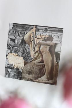 statue collage (for sale)