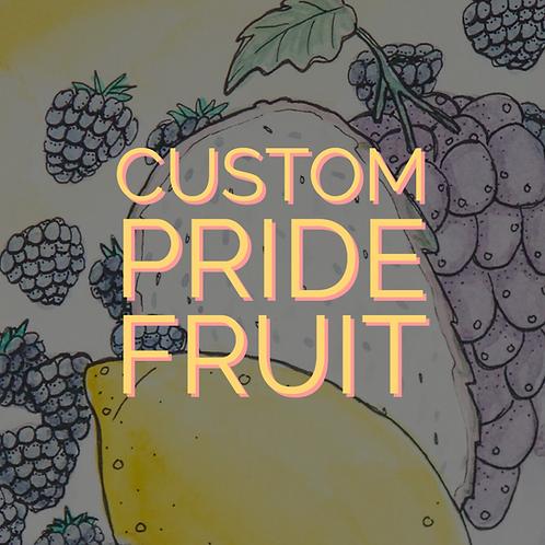 Custom Pride Fruit