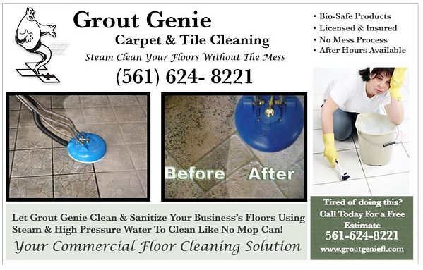 Grout Genie Tile and Carpet Cleaning