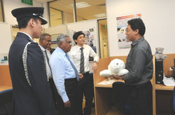 SR Nathan, President of Singapore