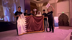 Another one for Team Qatar!