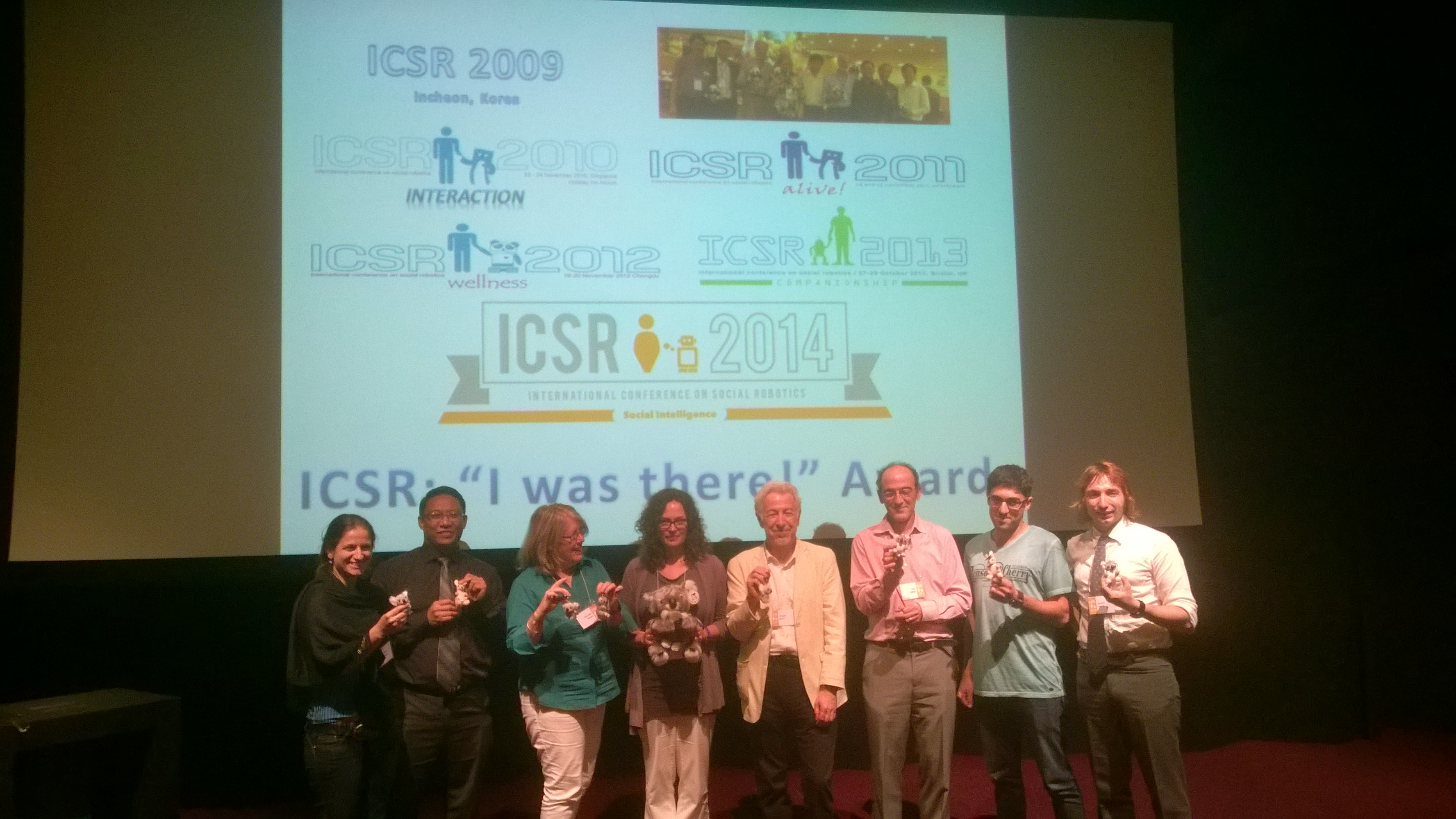 ICSR: We were there!