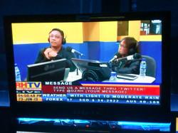TV-radio science news program