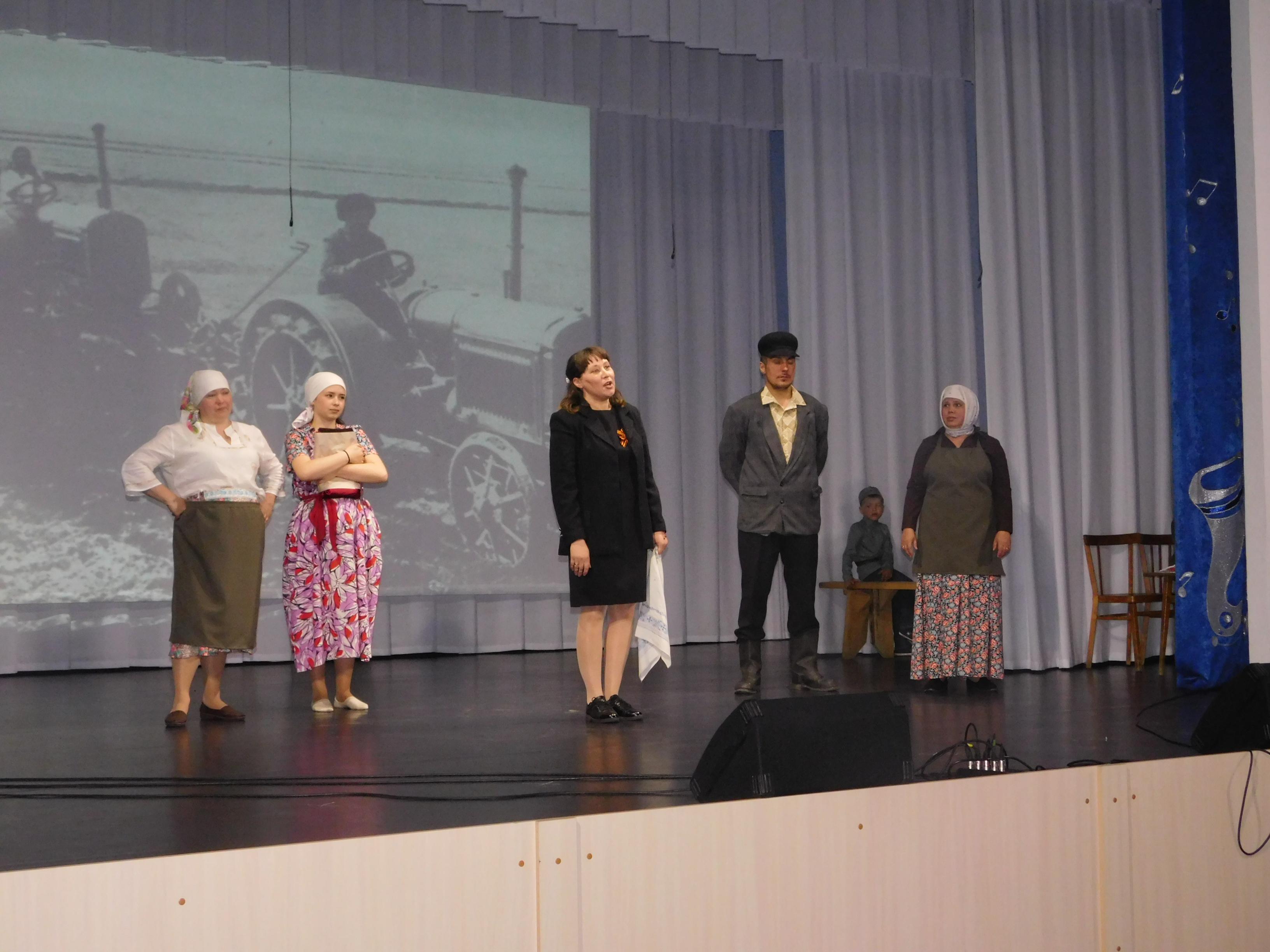 Сладковское 9 мая Пьеса Бабоньки