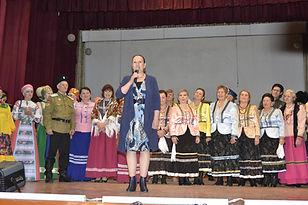 Выступление председателя жюри Родюковой