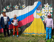 Куминовская б-ка Рисунки на заборе.jpg