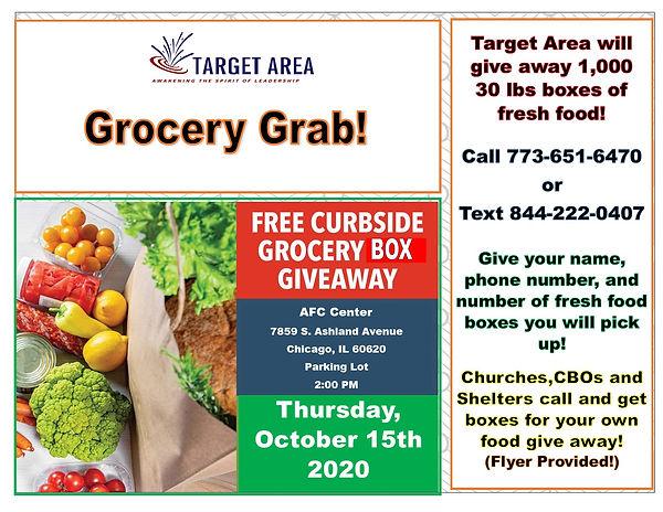 Target Area Grocery Grab Flyer 10-15-20