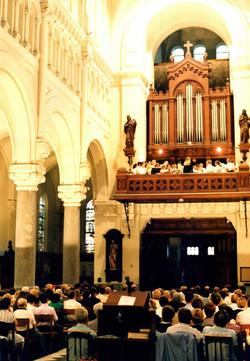 Concert Chœur et Orgue, St Calixte