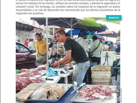 Efectos positivos de la migración venezolana en la economía de Colombia