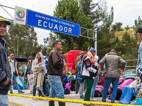 Venezolanos tienen hasta fin de mes para pedir la visa humanitaria en Ecuador