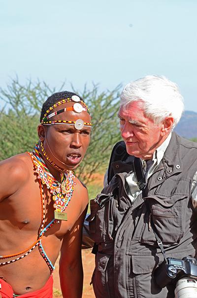 Larry Martin and Samburu