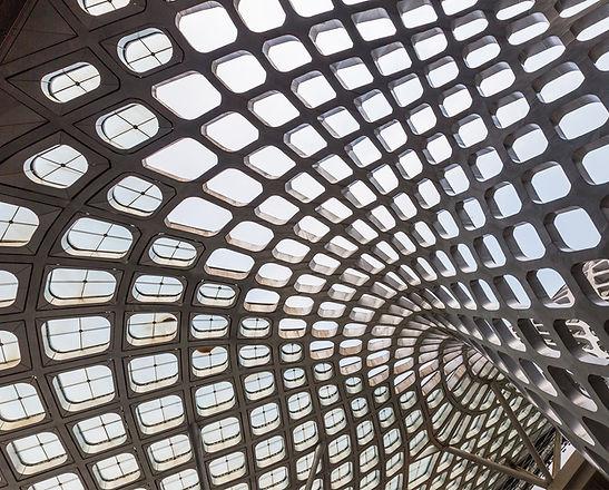 Arquitetura moderna de concreto
