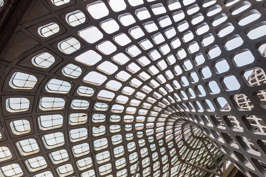 Arquitectura moderna de hormigón