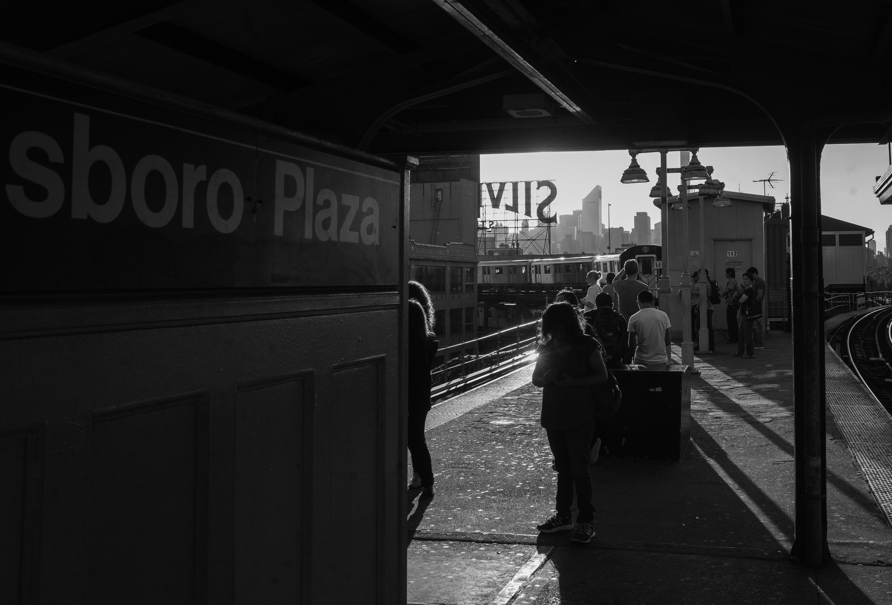 Twilight of Queensboro Plaza