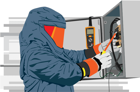 Arc-flash evaluation and analysis