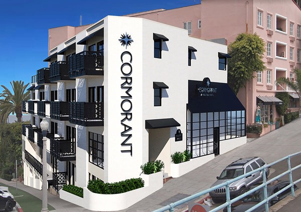 Expected look for Cormorant Boutique Hotel (previously La Jolla Inn)