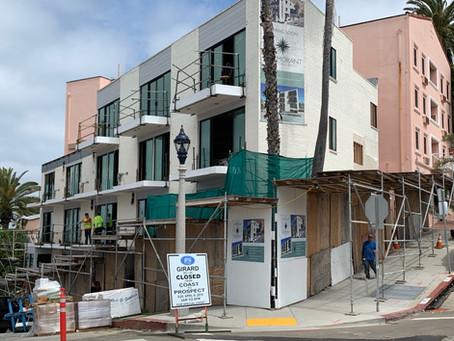 Renovation Progress of Turning La Jolla Inn Into a New Boutique Hotel