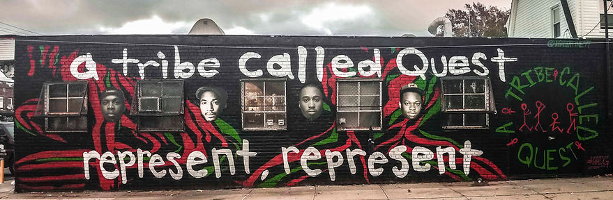A Tribe Called Quest Mural