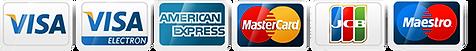 Anvend alle typer betalingskort hos TrueLink, køb klip og send e-faktura