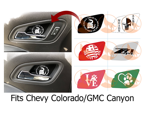 Door Catch Inserts - Chevy Colorado/GMC Canyon