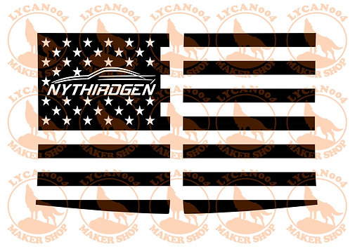 NYTHIRDGEN - 3rd Gen Trans AM/Camaro Decal